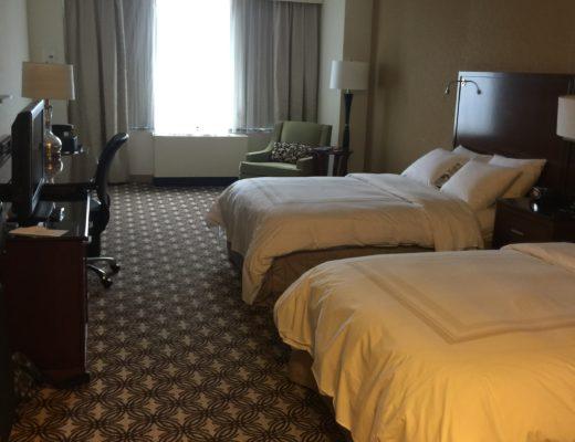 hotel room, generic hotel room,